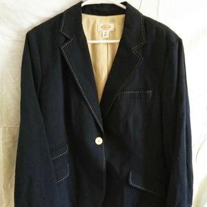 Talbots size 20 Navy blazer! Gently used.